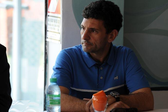 """Pablo Trueba: """"Esto debe resolverse rápido porque son los últimos días del año para pescar""""."""