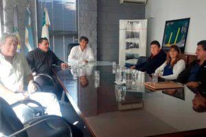 Revista Puerto - Merlini con representantes de la Industria Naval