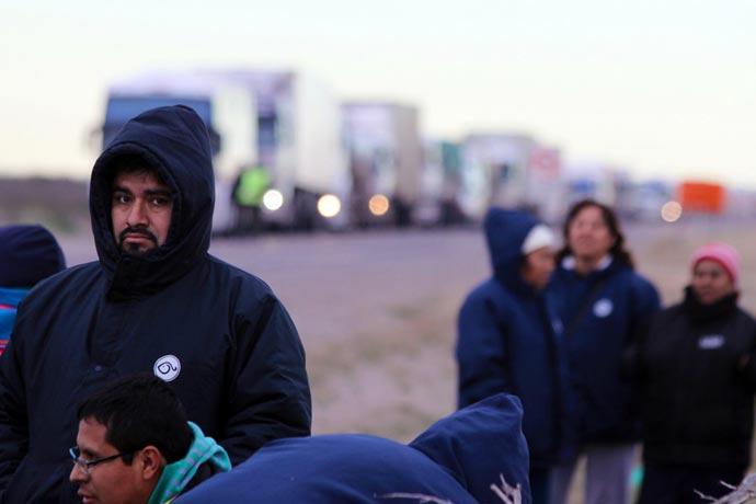 Los trabajadores de Alpesca ahora son perjudicados por los empresarios marplatenses.