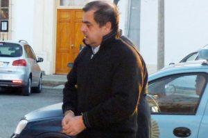 Esta es la primera imagen que se conoce de Aranda detenido.