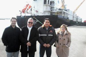 Revista Puerto - McCain visita Terminal de Cargas