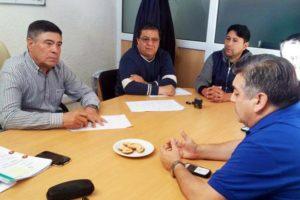 Núñez impide que afiliados del SOMU trabajen en tierra.