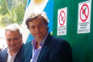 Awstin (derecha) y Sahagún (izquierda), secretario  y subsecretario de Pesca de Chubut.