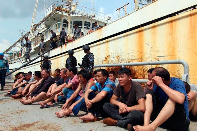 Revista Puerto - Atraparon al Hua Li 8 en aguas de Indonesia 01