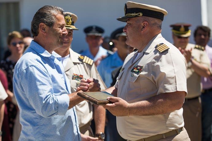 Revista Puerto - Cambio de jefe en PNA marplatense 05
