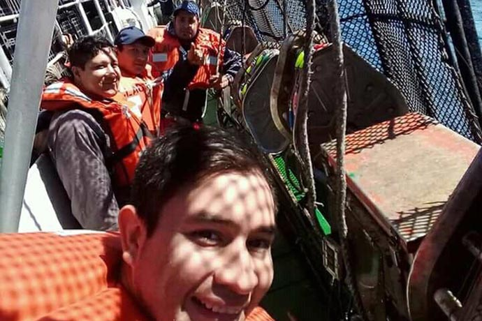 RevistaPuerto - Tripulantes del BP Claudina