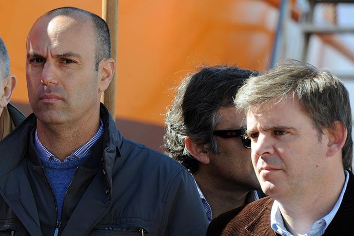 Revista Puerto - Francisco Di Leva con el subsecretario Juan Bosch
