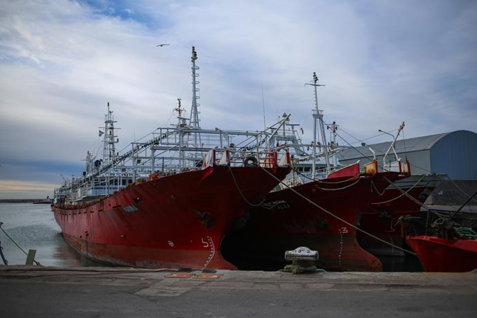 Revista Puerto - El paro en el puerto marplatense 04