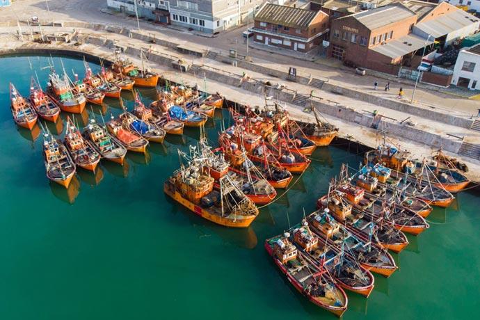 Revista Puerto - Lanchas amarillas de Mar del Plata 01