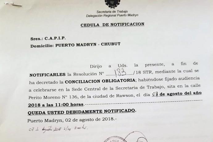 Revista Puerto - Conciliacion obligatoria con CAPIP