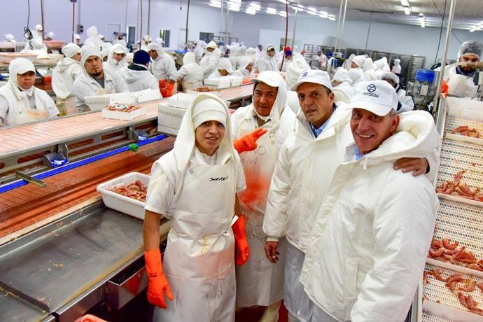 Revista Puerto - Mariano Arcioni y Sergio Massa visitan planta de Iberconsa 04