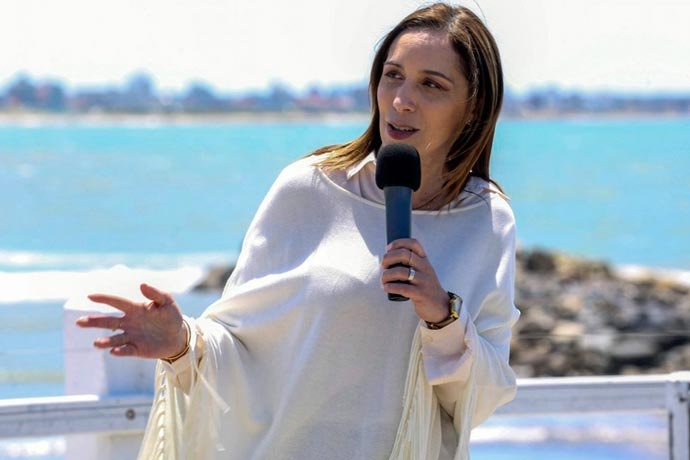 Revista Puerto - Gobernadora Maria Eugenia Vidal