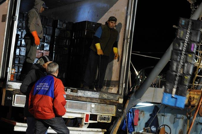 """Inspectores de pesca de Chubut piden un """"incentivo"""" para controlar"""