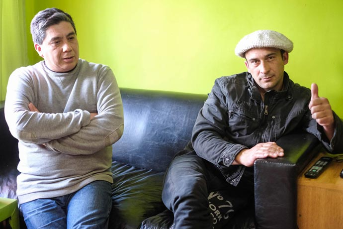 Revista Puerto - Julio Lopez y Jose Luis Lemos son fileteros 01