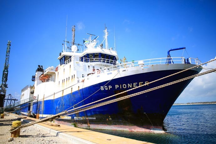 Revista Puerto - Exploracion offshore - Buque Pioneer