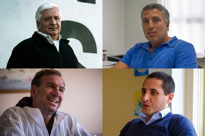 Revista Puerto - Empresarios Ciro DAntonio - Damian Santos - Mariano Retrivi y Federico Angeleri.jpg