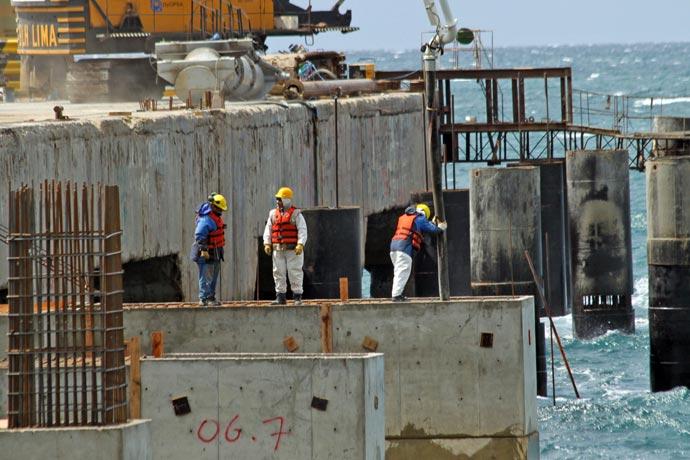 Madryn arranca 2019 con el puerto reducido un 30 por ciento