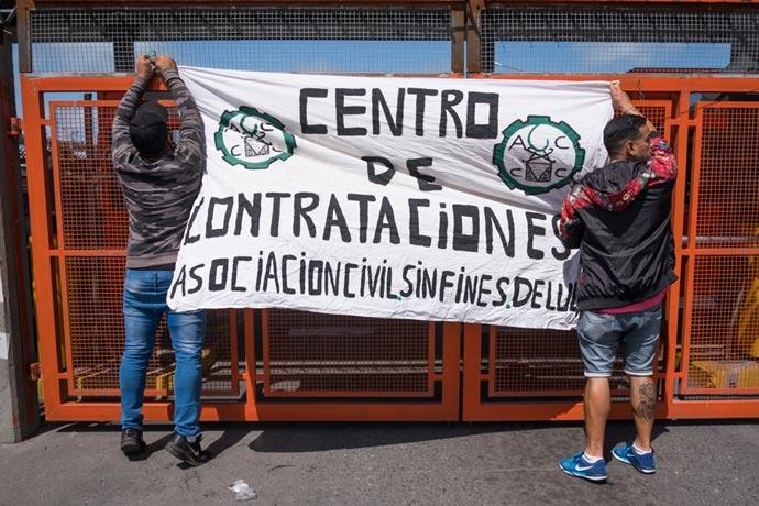 Revista Puerto - Protesta eventuales de la estiba MdP 03