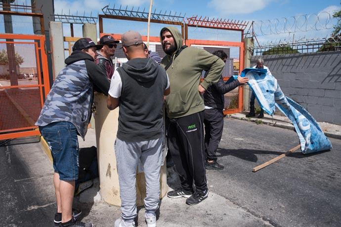 Revista Puerto - Protesta eventuales de la estiba MdP 05