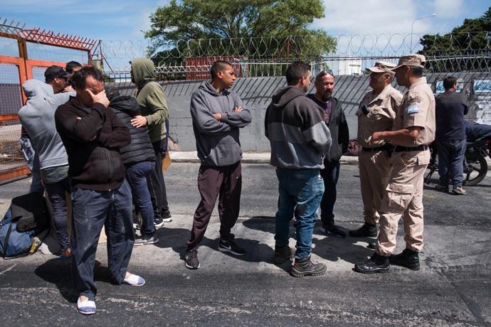 Revista Puerto - Protesta eventuales de la estiba MdP 09