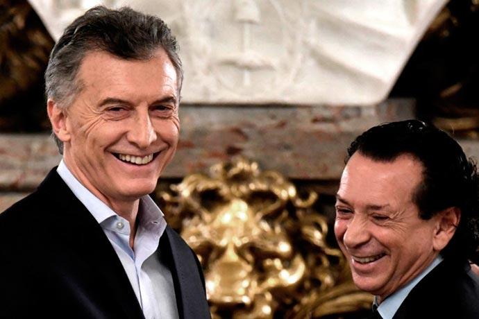 Revista Puerto - Presidente Mauricio Macri y ministro Dante Sica