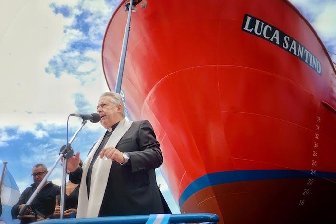 Revista Puerto - Botadura del Luca Santino en Contessi 13