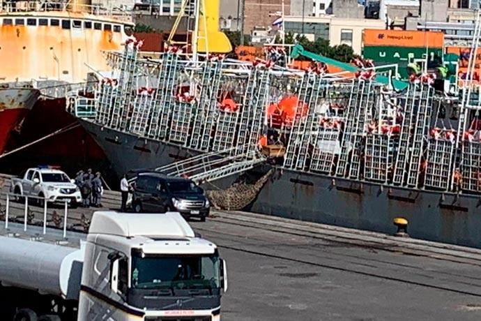 Revista Puerto - Desembarcan otro muerto en Montevideo 02