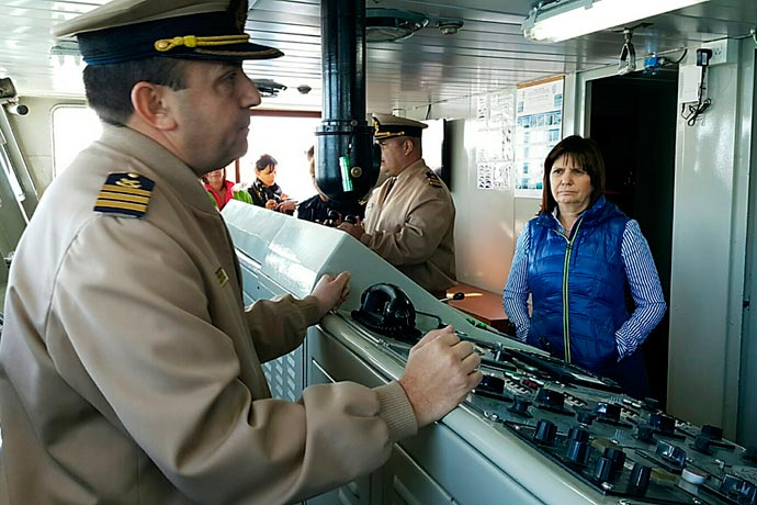 Revista Puerto - Ministra de Seguridad Patricia Bullrich