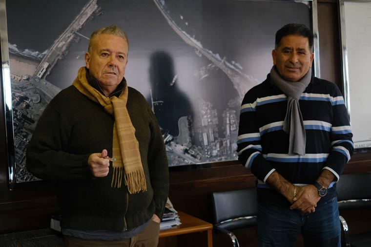 Revista Puerto - Emilio Bustamante y Alberto Ovejero - TC2