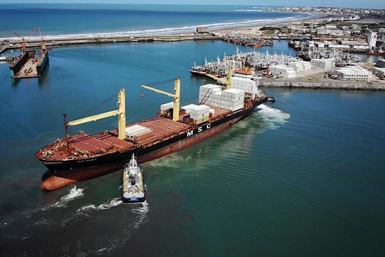 Más desembarques pero menos exportaciones