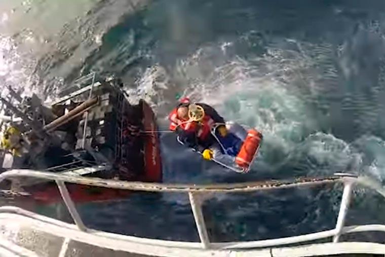 Revista Puerto - Aeroevacuacion de tripulante del BP Maria Gloria - 02