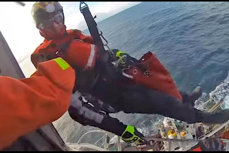 Revista Puerto - Aeroevacuacion de tripulante del BP Maria Gloria - 03