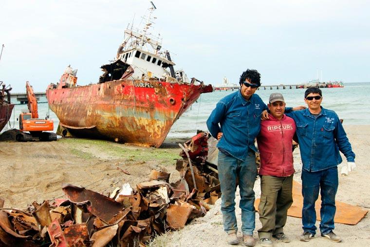 Revista Puerto - Desguace del BP Codepeca I - 02