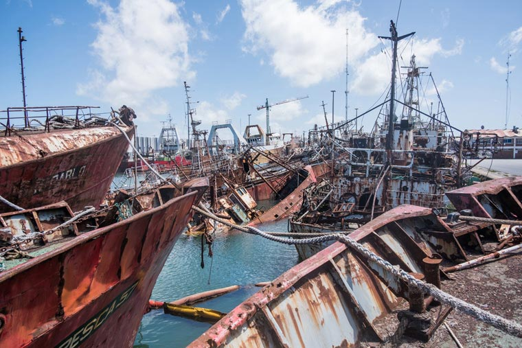 La Armada certificó las obras de mejoras en el varadero de la Base Naval