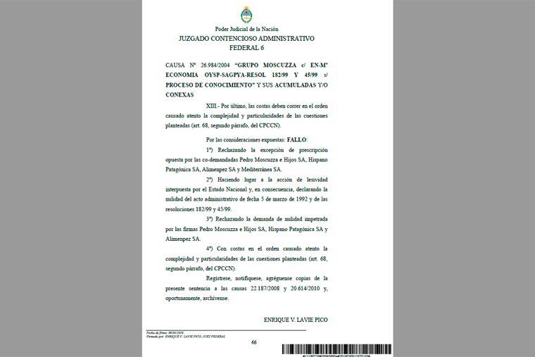 Revista Puerto - Desoyen un fallo de la justicia para beneficiar al Grupo Moscuzza - 04