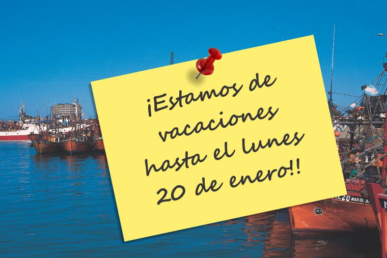 Revista Puerto - Vacaciones hasta 20-1