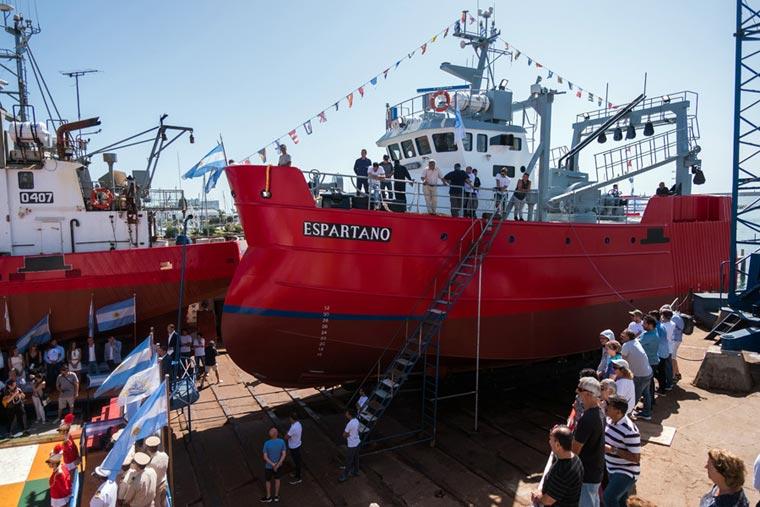 Revista Puerto - Botadura del BP Espartano en Astillero Contessi - 10