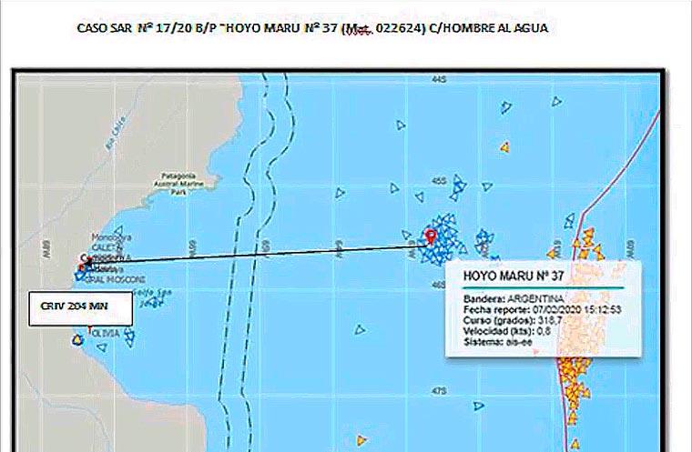 Revista Puerto - Desaparece en altamar tripulante de buque de Argenova - 02