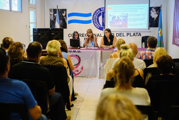 Revista Puerto - SOMU - charla sobre violencia y acoso laboral - 02