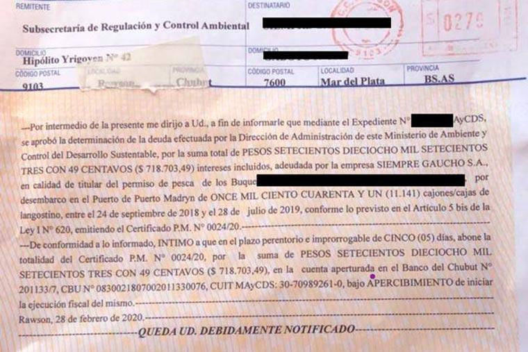 Revista Puerto - Pretenden cobrar tasa a pesqueros marplatenses - 03