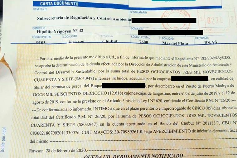 Revista Puerto - Pretenden cobrar tasa a pesqueros marplatenses - 04