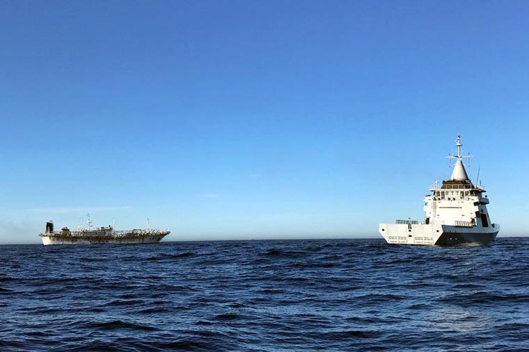 Revista Puerto - Pesquero chino capturado en aguas nacionales - 03