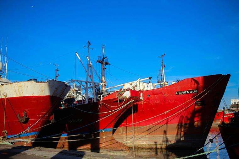 En el Consorcio de Mar del Plata piensan hundir diez barcos inactivos