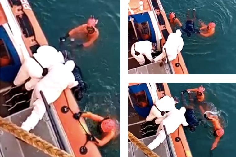 Revista Puerto - Cuerpo de marinero aparece flotando en el puerto marplatense - 02