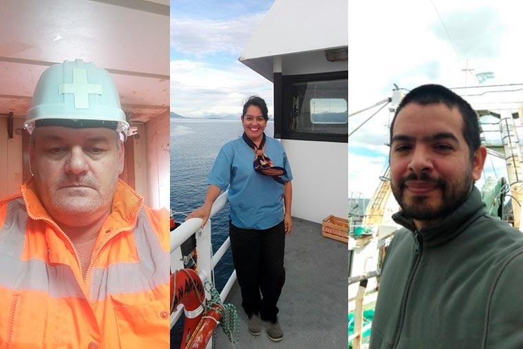 Revista Puerto - Enfermeros Julio Hering - Monica Belizan - Diego Chamorro