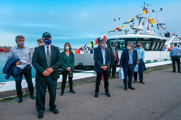 Revista Puerto - INIDEP - Llegada a Mar del Plata del BIP Mar Argentino - 03