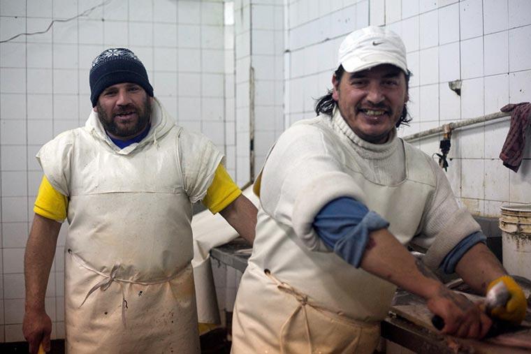 Revista puerto - Obreros del pescado
