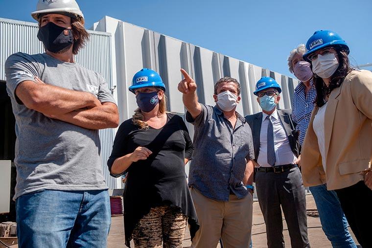 Revista Puerto - Mar del Plata - Funcionarios de Industria visitan astilleros - 02