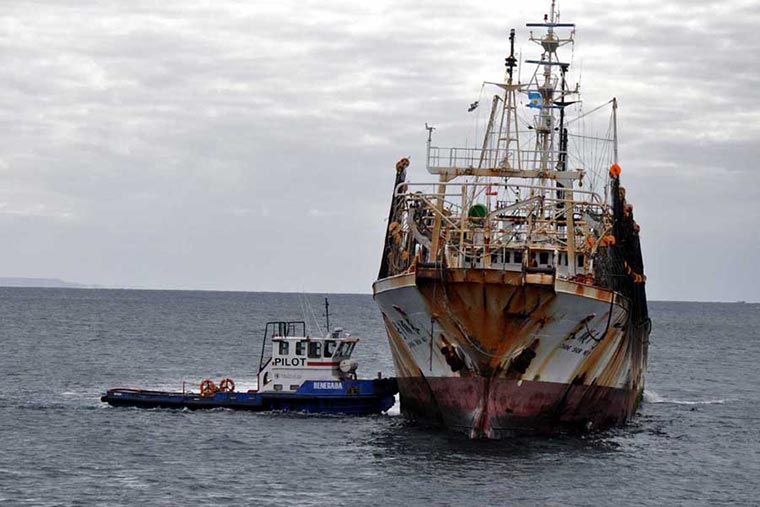 Revista Puerto - Chubut - Barcos chinos