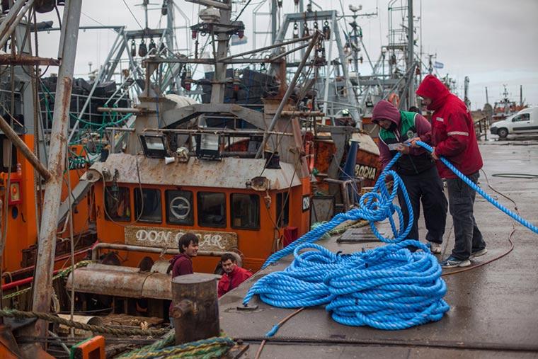 La flota amarilla de Chubut pidió la conciliación obligatoria